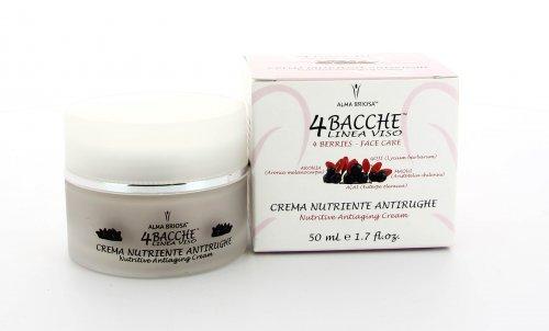 Crema Nutriente 4 Bacche Antirughe - 50 ml.