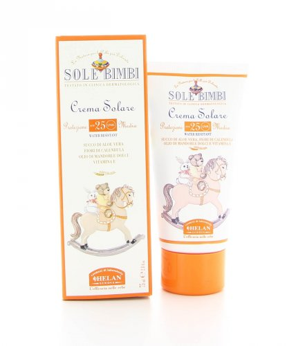 Crema Solare Sole Bimbi Protezione Media Spf25