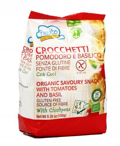 Crocchetti Pomodoro e Basilico - Senza Glutine