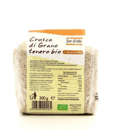 Crusca di Grano Tenero Bio - 300 gr.