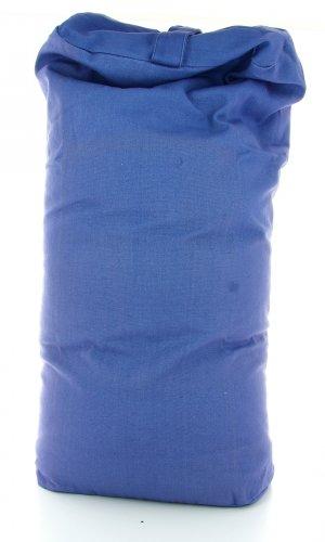 Cuscino Bolster - Blu