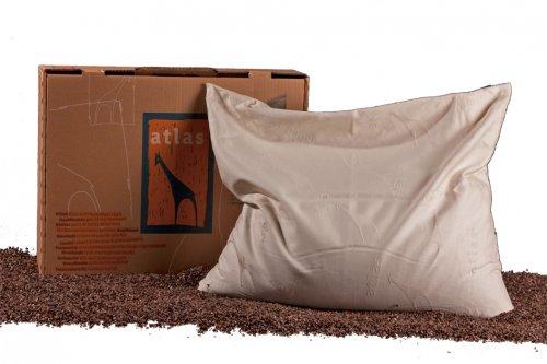 Cuscino Grande Atlas con Grano Saraceno - 50x60 cm
