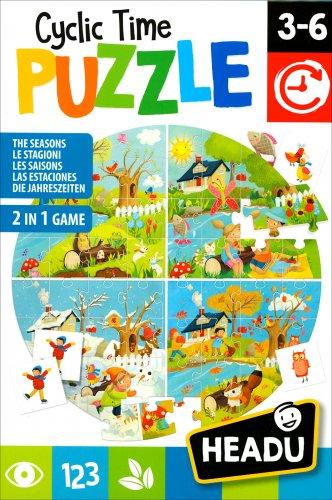 Cyclic Time Puzzle - Headu