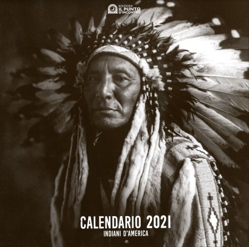 Calendario Pellerossa 2021 Calendario degli Indiani d'America 2021