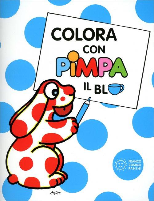Colora con pimpa il blu for Immagini pimpa gratis