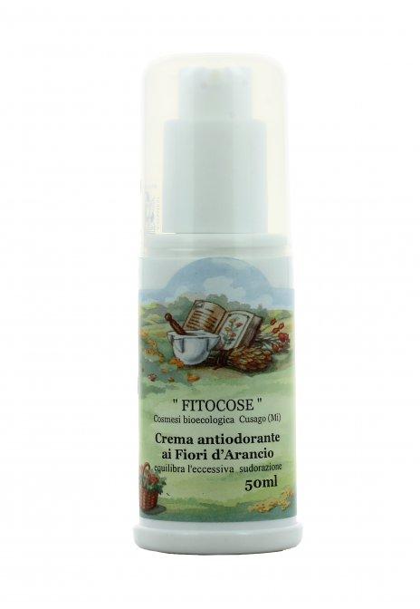 Crema Antiodorante ai Fiori d'Arancio - Fitocose