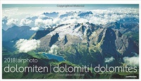 Calendario Dolomiti 2018 - Airphoto