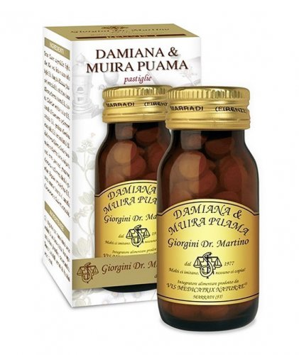 Damiana e Muira Puama - Pastiglie