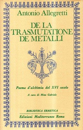 De la Trasmutatione de Metalli