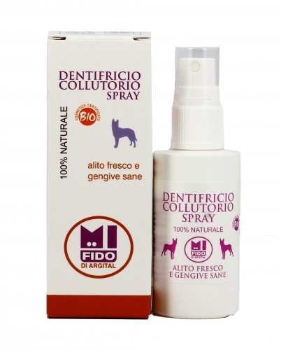 Dentifricio Collutorio Spray per Cani