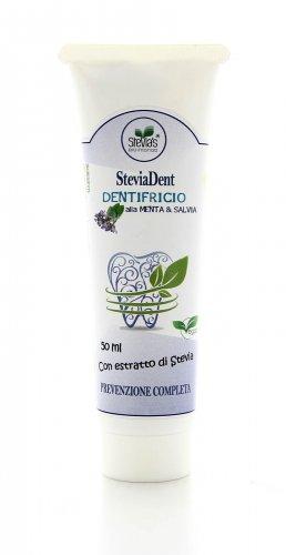 Dentifricio Naturale Menta e Salvia con Stevia
