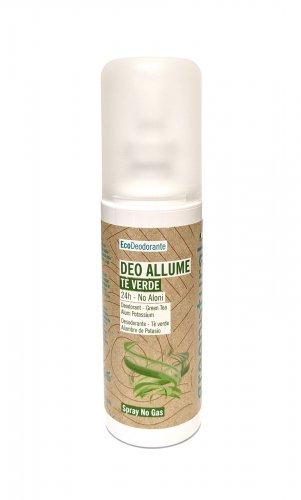 Deodorante Spray No Gas Allume di Potassio - Tè Verde