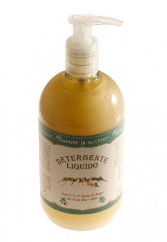 Detergente Liquido con il 5% di Sapone di Aleppo all'olio di oliva e alloro - 1 Litro