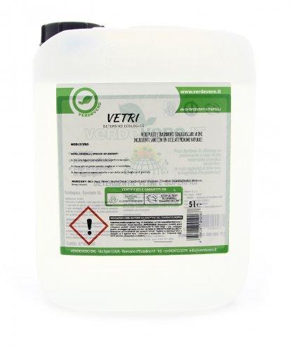 Detergente per Vetri e Superfici - 5 Litri