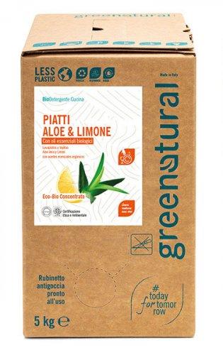 Bio Detergente Piatti Aloe e Limone