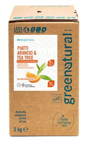 Bio Detergente Piatti Arancio e Tea Tree