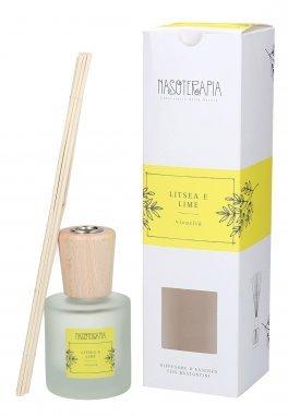 Diffusore d'Essenza con Bastoncini - Litsea e Lime