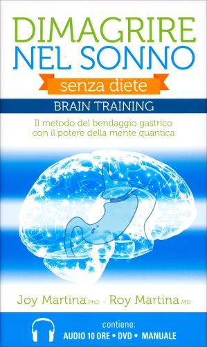 Dimagrire nel Sonno (Cofanetto Braintraining con 2 CD MP3, 1 DVD e 1 Pen Drive)