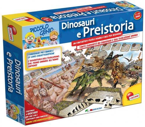 Dinosauri e Preistoria - Puzzle - 5/10 Anni