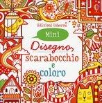 Disegno, Scarabocchio e Coloro - Mini Rosso