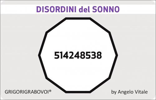 Tessera Radionica 89 - Disordini del Sonno