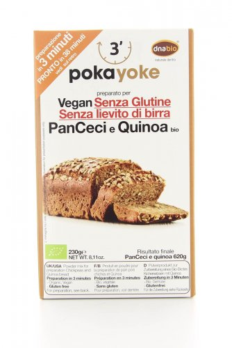 PanCeci e Quinoa Vegan Senza Glutine