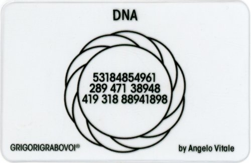 Tessera Radionica - DNA