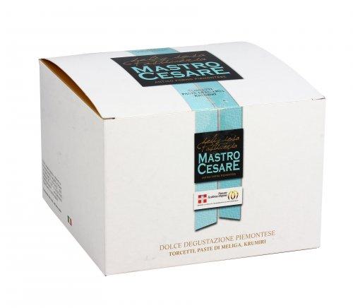 Scatola di Biscotti - Dolce Degustazione Piemontese