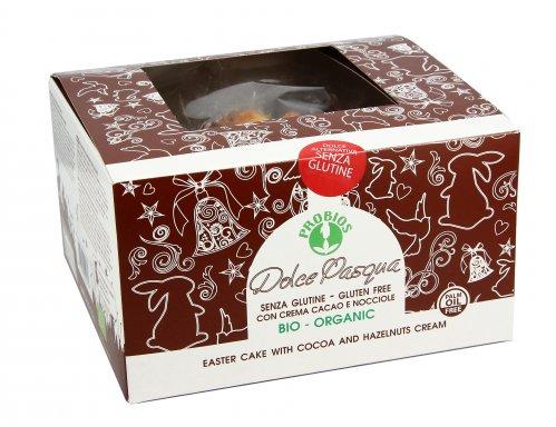 Dolce di Pasqua con Crema al Cacao e Nocciole - Senza Glutine