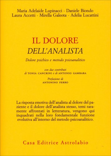 Il Dolore dell'Analista