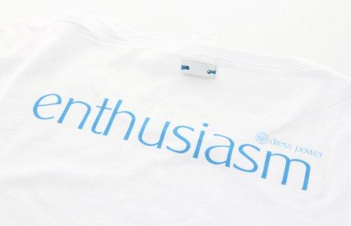 Dress Power T-Shirt - Enthusiasm Donna