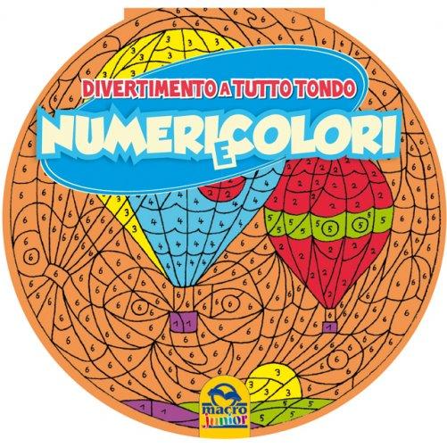 Divertimento a tutto tondo numeri e colori libro di - Pagine di ringraziamento e divertimento ...