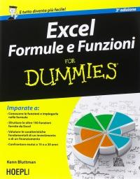 Excel: Formule e Funzioni for Dummies