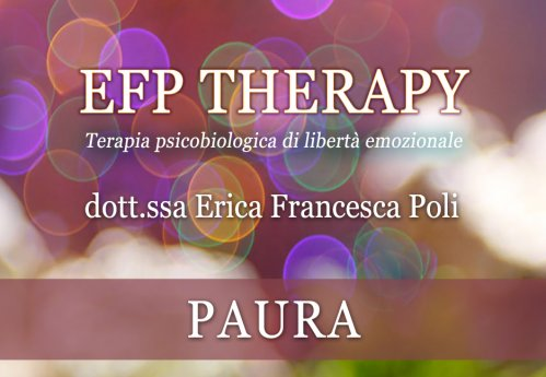 EFP Therapy - Paura (Videocorso Digitale)