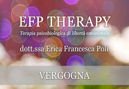 EFP Therapy - Vergogna (Videocorso Digitale)