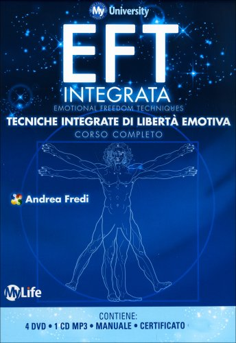 EFT Integrata - Corso Completo con 4 DVD, 1 Manuale, 1 CD Mp3