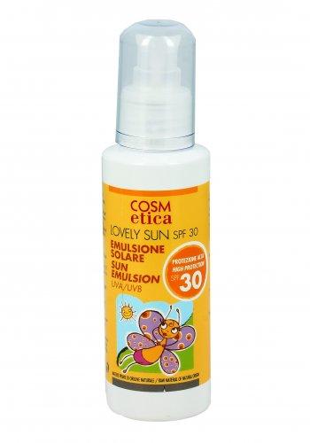 Emulsione Solare Protezione Alta SPF30