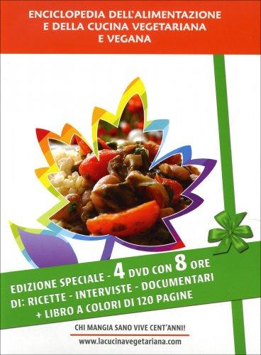 Enciclopedia dell'Alimentazione e della Cucina Vegetariana e Vegana - 4 DVD con Libro