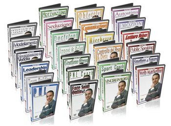 Enciclopedia della PNL (25 Corsi DVD)
