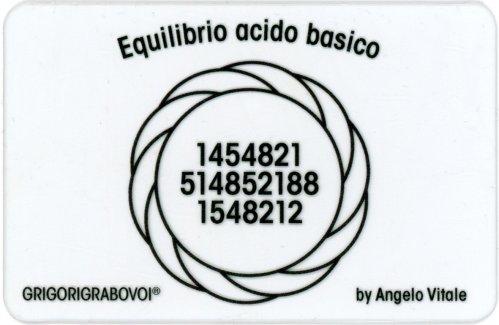 Tessera Radionica - Equilibrio Acido Basico