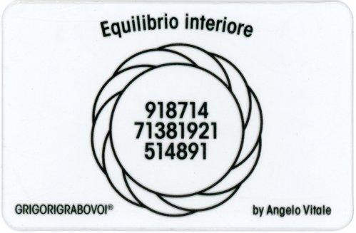 Tessera Radionica - Equilibrio Interiore