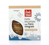FETTE BISCOTTATE DI FARRO INTEGRALE BIO Con pasta madre