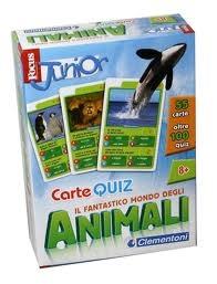 Il Fantastico Mondo degli Animali - Carte Quiz - Focus Junior