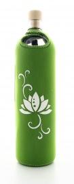 Bottiglia Vetro Programmato Flaska - Design Lotus