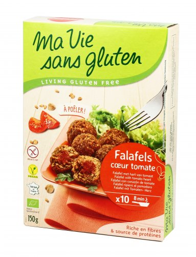 Falafel con Cuore di Pomodoro - Senza Glutine