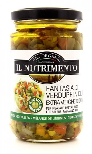 Fantasia di Verdure in Olio Extravergine di Oliva