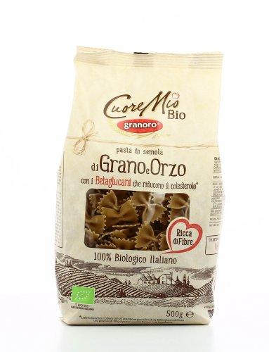 Pasta di Semola di Grano e Orzo - Farfalle - Cuore Mio Bio