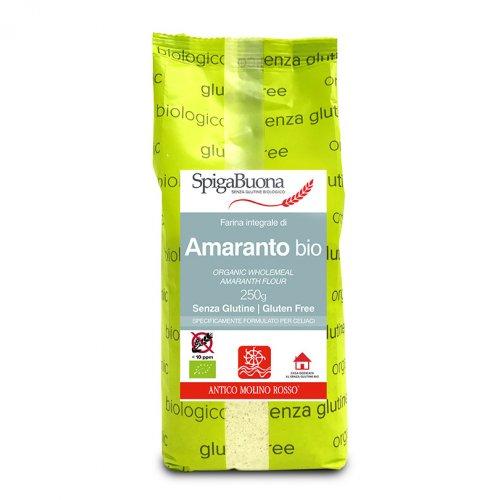 Farina Integrale di Amaranto Bio - Senza Glutine