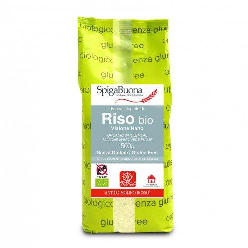 Farina Integrale di Riso Bio - Senza Glutine