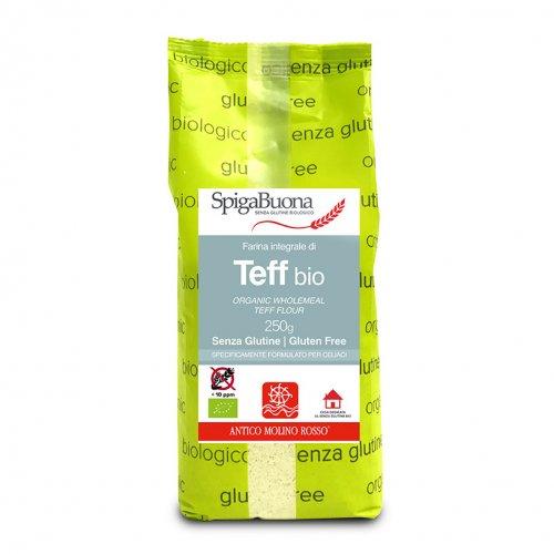 Farina Integrale di Teff Bio - Senza Glutine